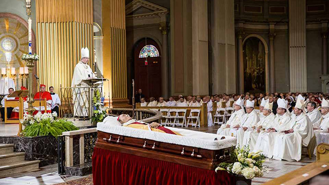 First Anniversary of Cardinal Turcotte's Death