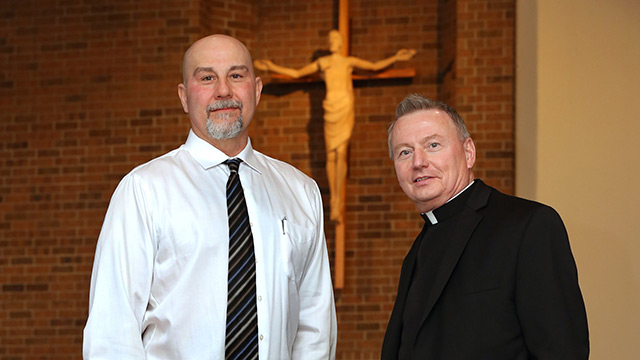 Death-row experience interweaves lives of priest, man he helped free