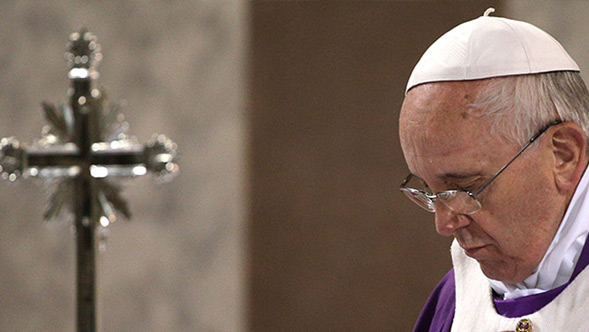Pope's Lenten message calls for conversion