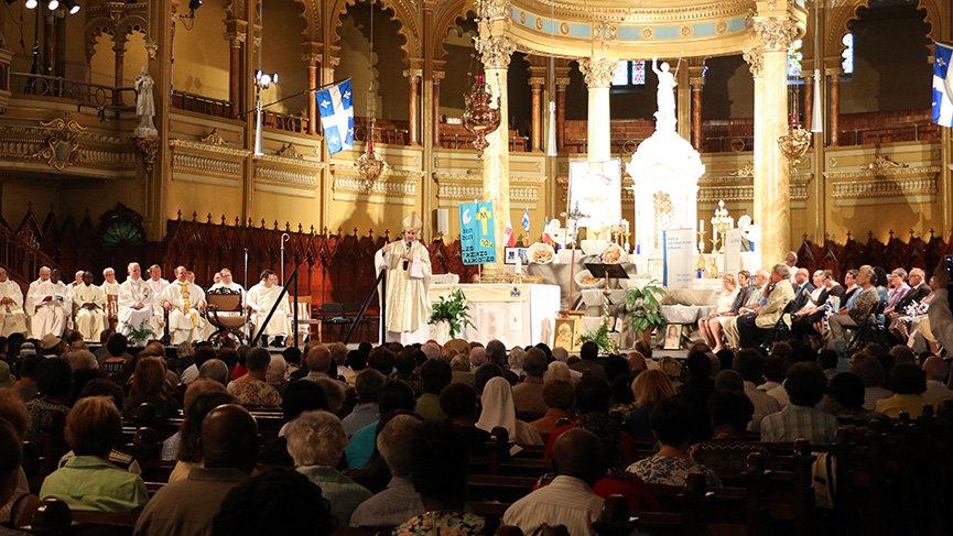Mass of St. John the Baptist celebrated in 2016
