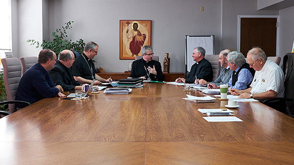 The episcopal Council of the Archbishop