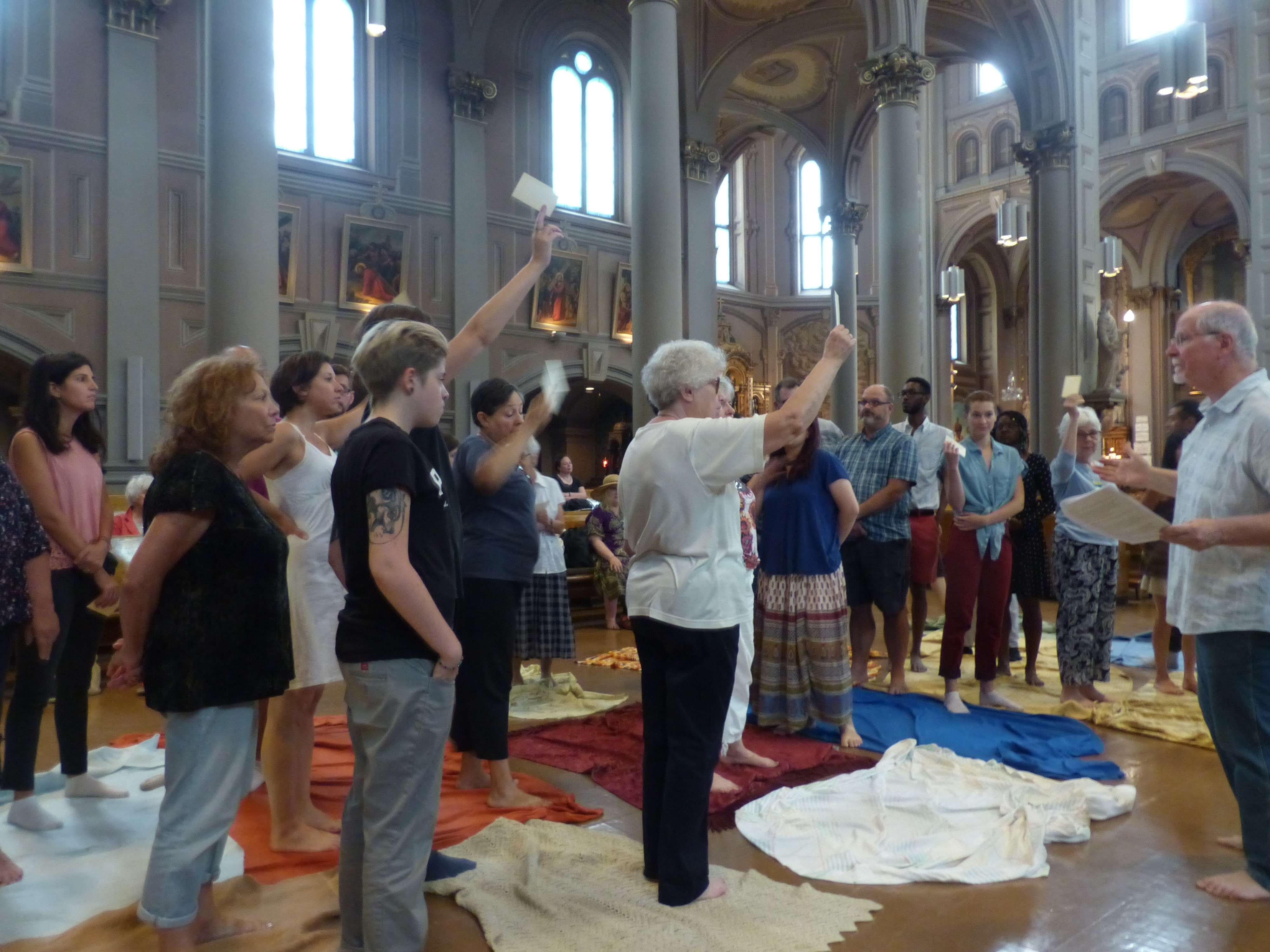 Aboriginal Mass: A First at the Church of the Gesù