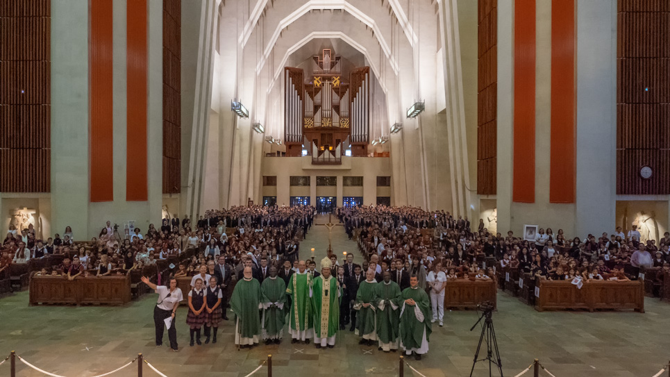 Mass with Montreal's Catholic Schools