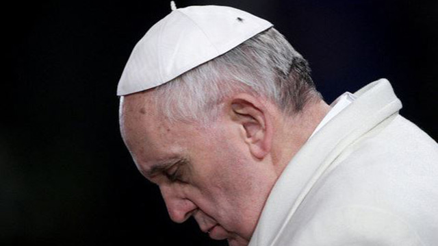 Pope asks for forgiveness