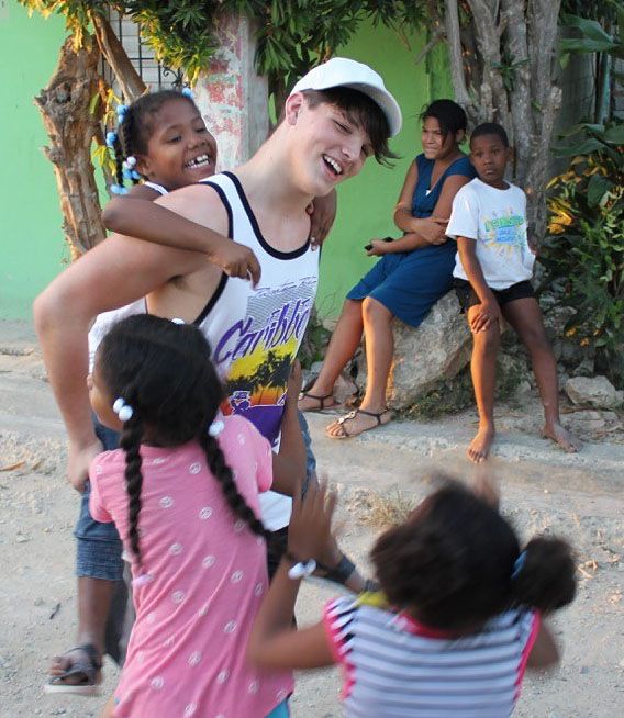 Ryan Perkins shares life in the Dominican