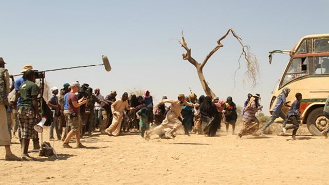Filming took place in Kenya.