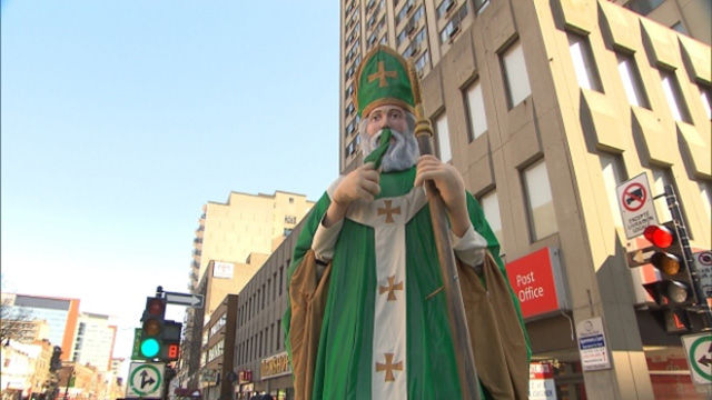Saint Patrick's Day in Montreal