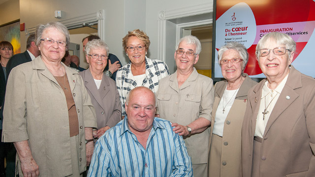 The Grey Nuns Honoured by Accueil Bonneau