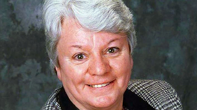 Sister Nuala Kenny from the Sisters of Charity of Halifax