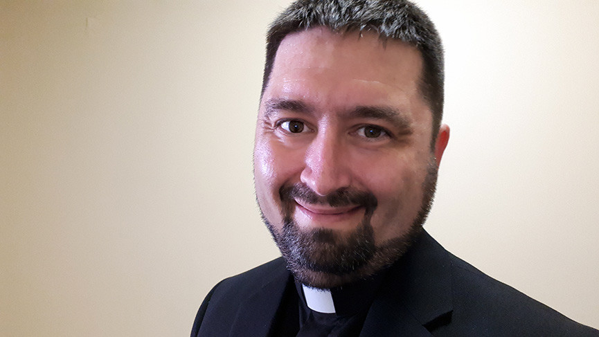 Francis Bégin will be ordained deacon on October 4, 2019.