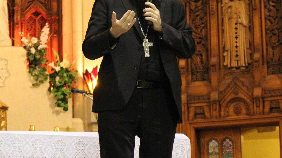 "Most Reverend Christian Lépine: ""Even when you feel alone, God is with you: this is what parents, children, catechists, and everyone in general need to discover."""