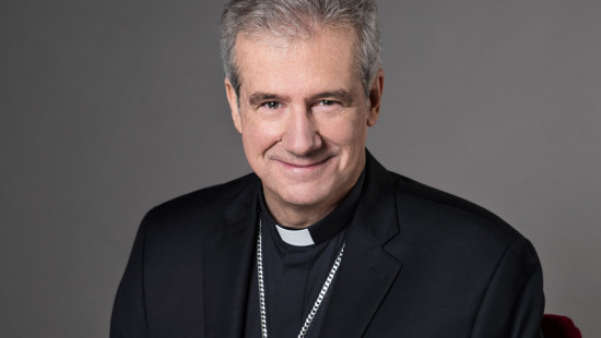 Archbishop Lépine supports victims of floods
