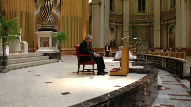 Lenten Retreat with Archbishop Lépine