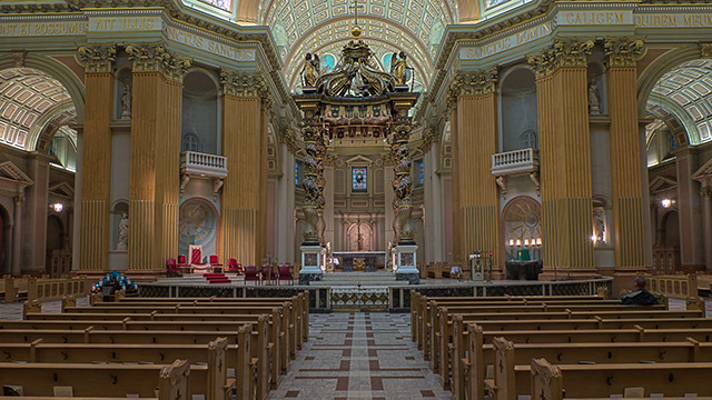The Majestic Cathedral at La Nuit Blanche