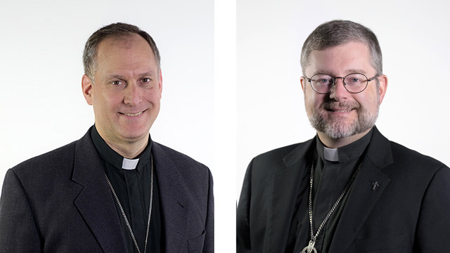 Bishops Dowd and  Faubert appointed Vicars General