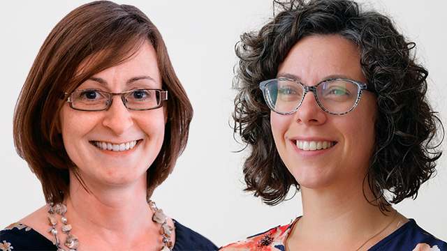 Katerine Perrault and Ellen Roderick, leading this new diocesan center